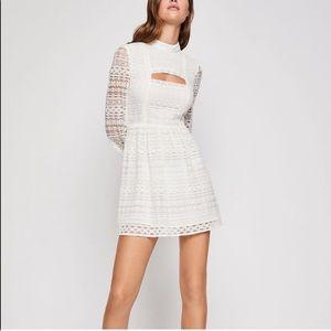 BCBGENERATION Lace Peek-a-boo Cutout Dress